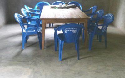 Des chaises pour un confort bienvenu