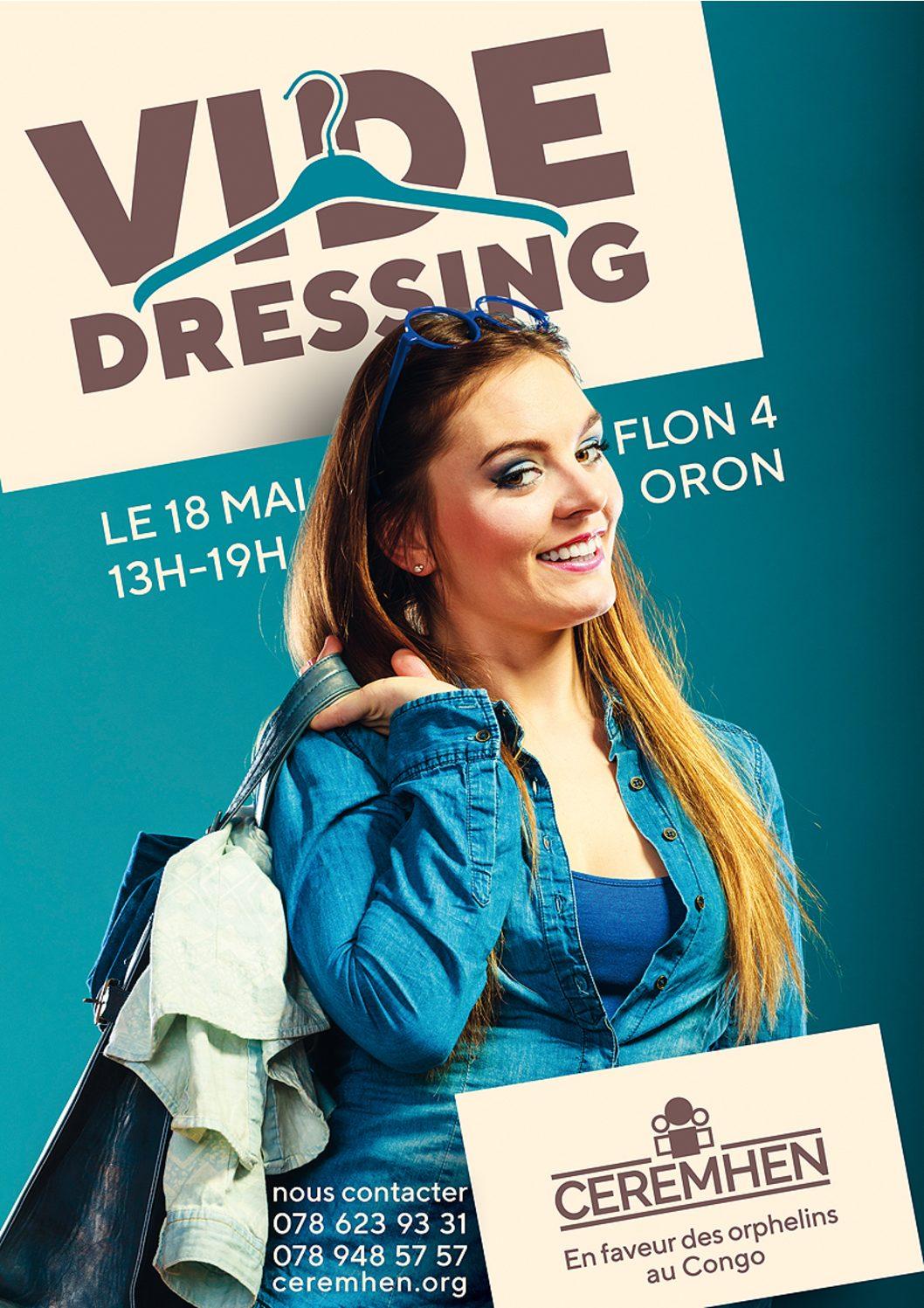 Le 18 mai ne manquez pas notre «Vide dressing»