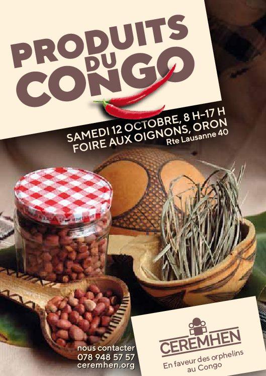 Produits du Congo à la Foire aux Oignons le 12 octobre