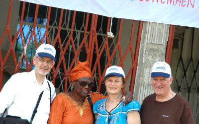Une délégation suisse au Congo